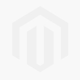 Bisque Orbit 900 x 500mm Mirror Finish Open Heated Towel Rail (Left)